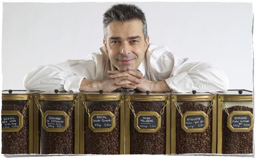 café haut de gamme