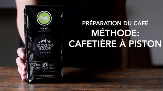 café pour cafetière à piston