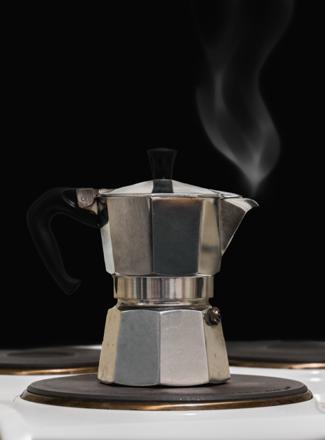 café vapeur