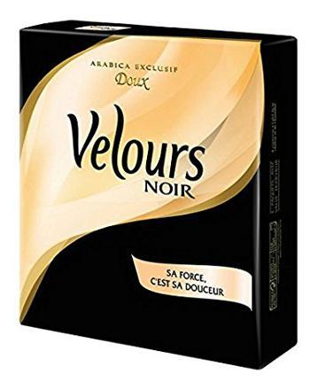 café velours noir