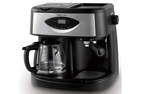cafetière filtre et expresso