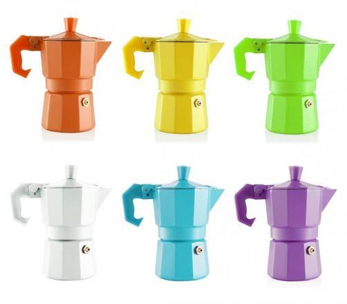 cafetiere italienne couleur
