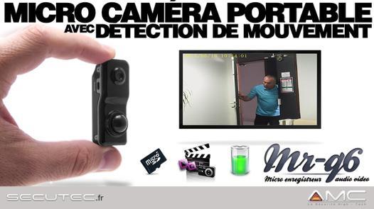 camera enregistreur avec detecteur de mouvement