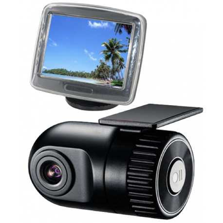 camera voiture discrete