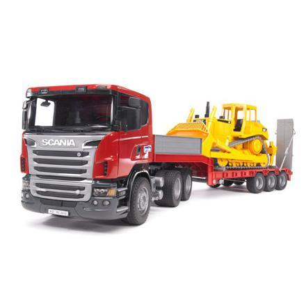 camion avec remorque jouet