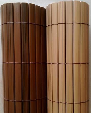 canisse pvc brun