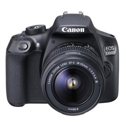 canon eos 1300d + ef-s 18-55mm dc iii appareil photo reflex