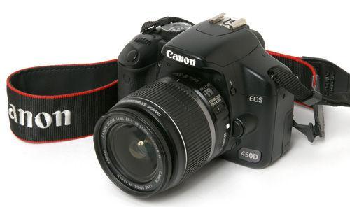 canon eos 450d occasion