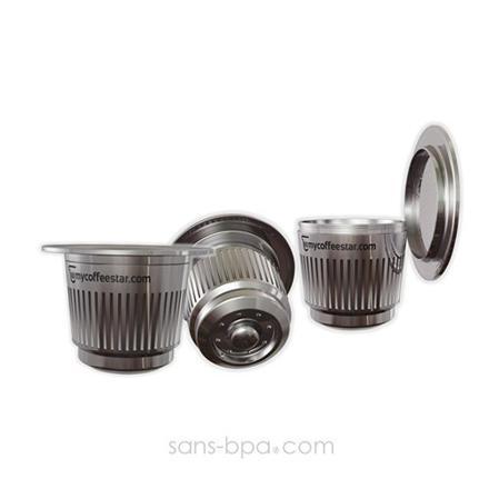 capsule nespresso inox