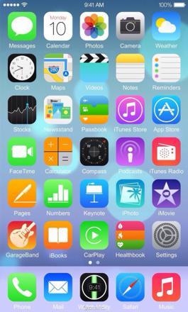 capture d écran apple