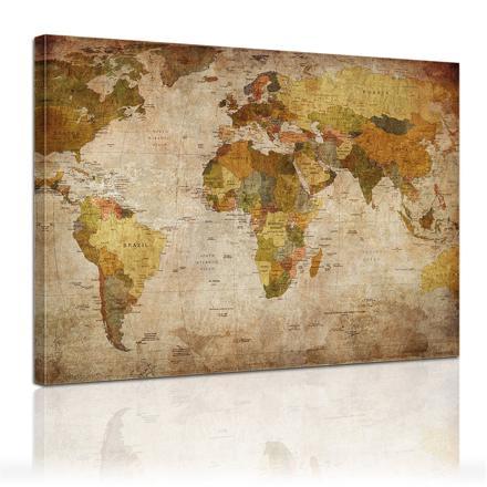 carte du monde amazon