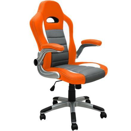 chaise de bureau orange