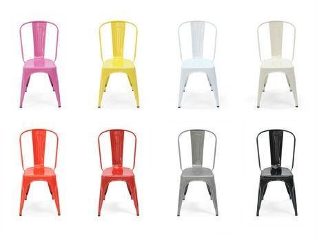 chaise de couleur pas cher
