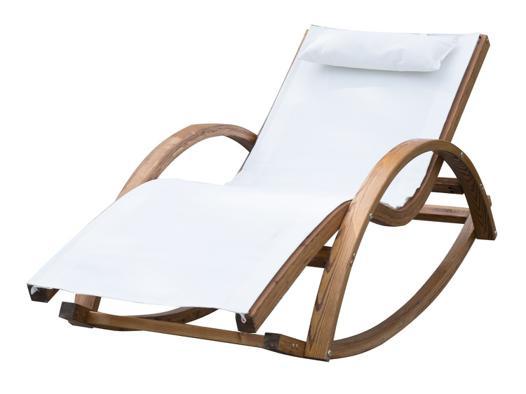 chaise longue à bascule