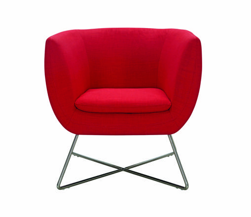 fauteuil rouge but