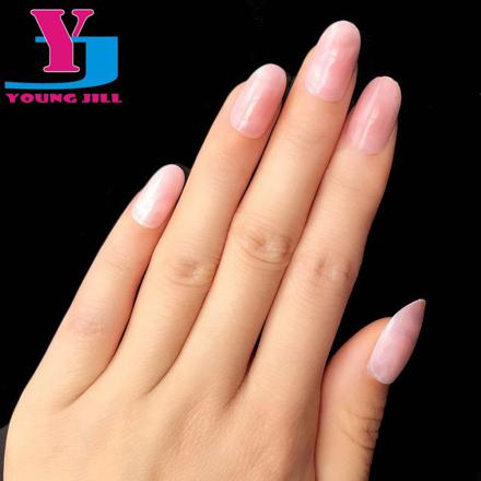 faux ongles ovale