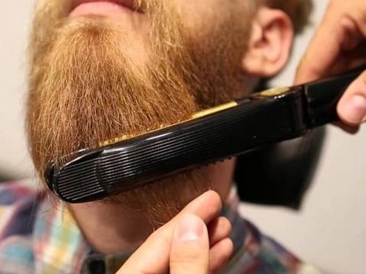 fer a lisser barbe