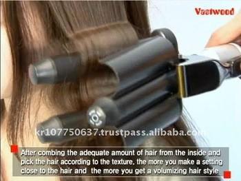 fer cheveux vague