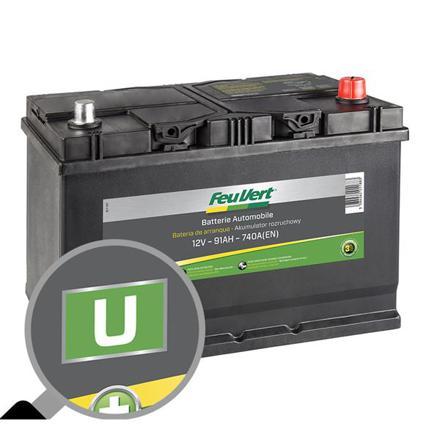 feu vert batterie