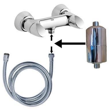 filtre à eau douche