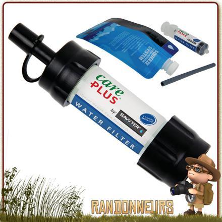 filtre a eau randonnée