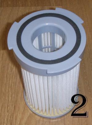 filtre d\'aspirateur sans sac