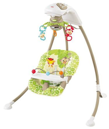 fisher-price balancelle amis de la jungle