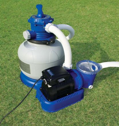 fonctionnement pompe piscine intex hors sol