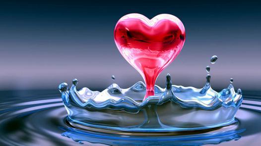 fond d\'écran amour coeur