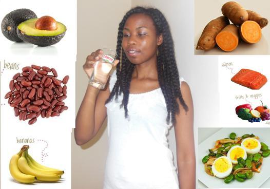 fruit bon pour les cheveux