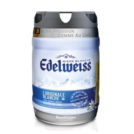 fut de biere edelweiss