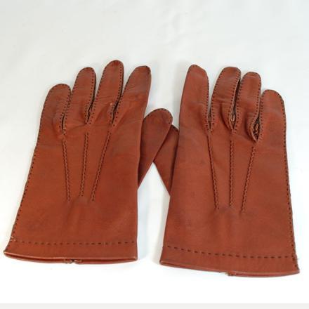 gants cuir homme vintage