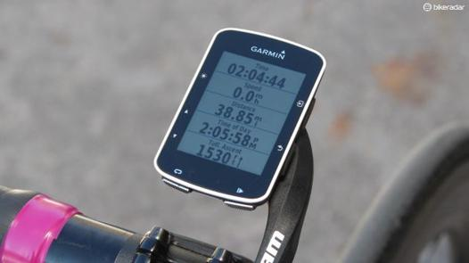 garmin edge 520 test