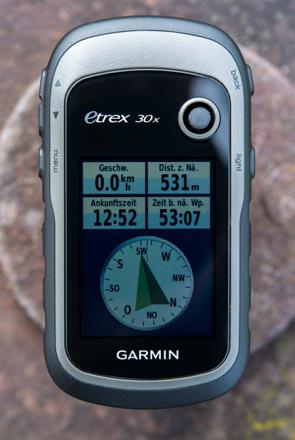 garmin etrex 30x test
