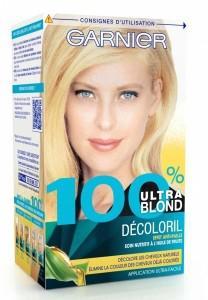 garnier 100 blond