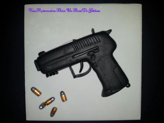 gateau pistolet