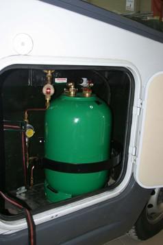gaz camping car