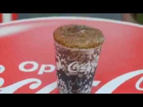 glace pilée coca