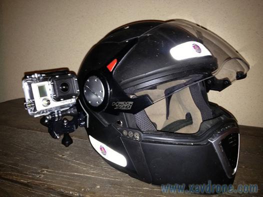 go pro casque moto