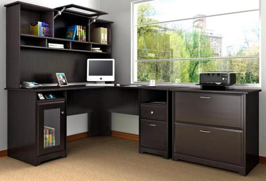 grand bureau ordinateur