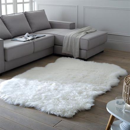 grand tapis blanc pas cher