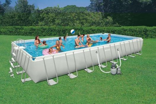 grande piscine hors sol intex