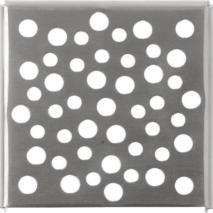 grille inox pour douche italienne