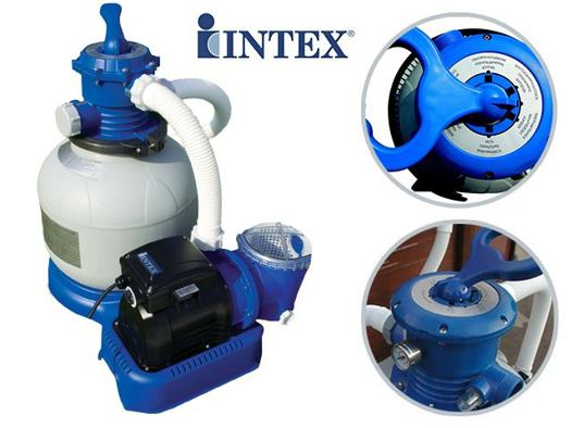 groupe de filtration intex