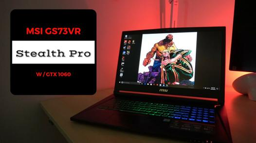 gs73vr 7rf stealth pro 4k