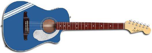 guitare folk electro acoustique 3 4