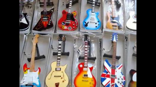 guitare miniature collection