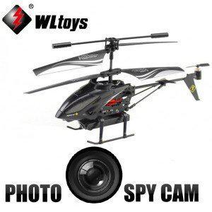 hélicoptère radiocommandé avec caméra