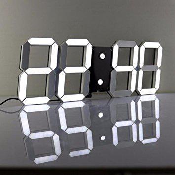 horloge digital murale