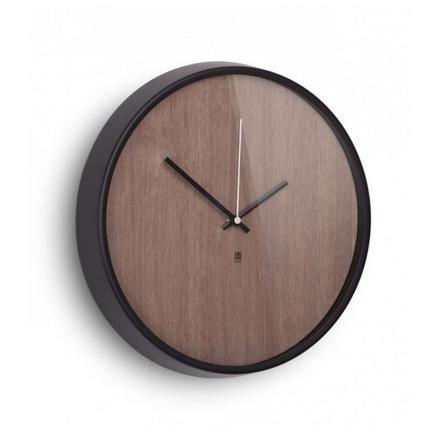 horloge murale design bois